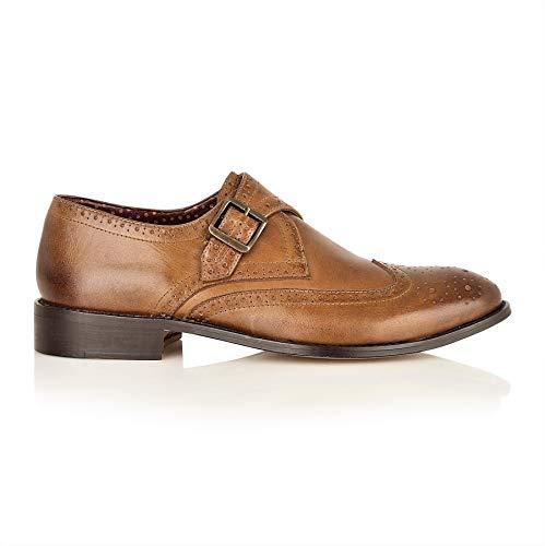 Brogues Ville Pour London Lacets À De Châtaigne Homme Chaussures qAqwdtZ