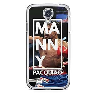 Manny Pacquiao Samsung Galaxy S4 Transparent Edge Case - Box