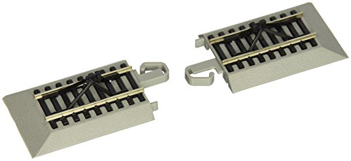 Bachmann Trains Snap-Fit E-Z Track Hayes Bumpers (2/card) ()