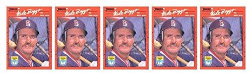 (5) 1990 Donruss Learning Series #21 Wade Boggs Baseball Card Lot Red Sox