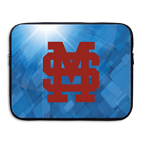 ZOENA Mississippi University Bulldogs Water-resistant Tablet Sleeve Case Bag 13-15 Inch