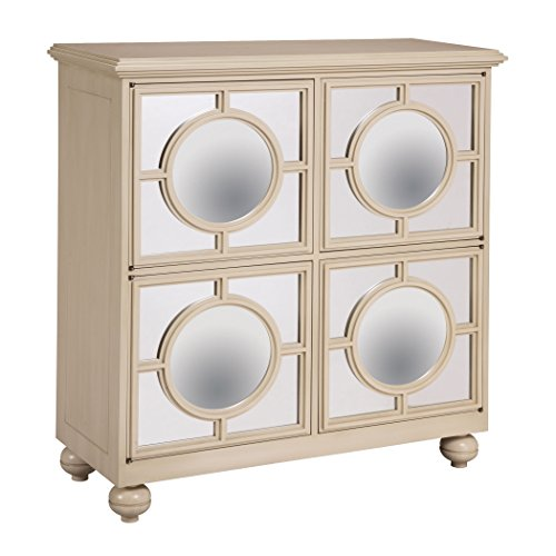 Sterling Industries 6042341 Mirage – 39″ Cabinet, Ivory Finish