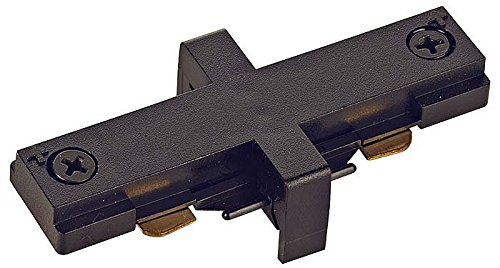 Juno Lighting Group T23BL Miniature Straight Track Connector, Black (Miniature Connectors)
