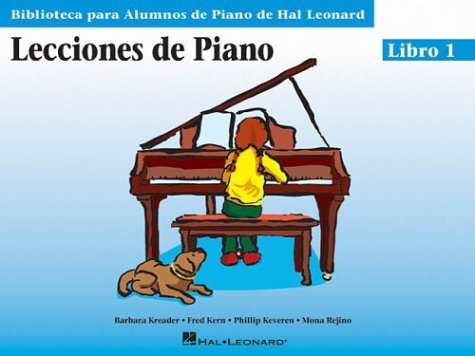 Piano Lessons Book 1 - Spanish Edition (Biblioteca Para Alumnos De Piano / Library for Piano Students)