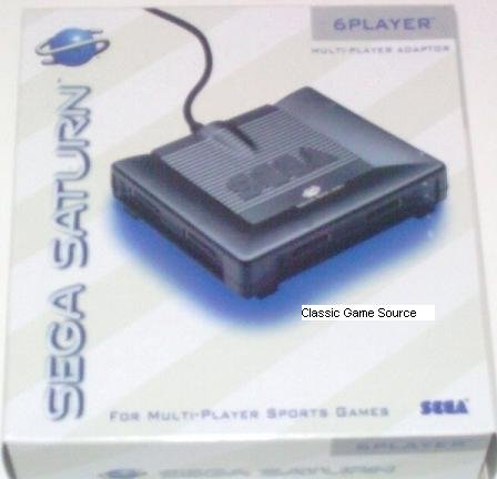 Sega Saturn 6 Player Multiplayer Adapter