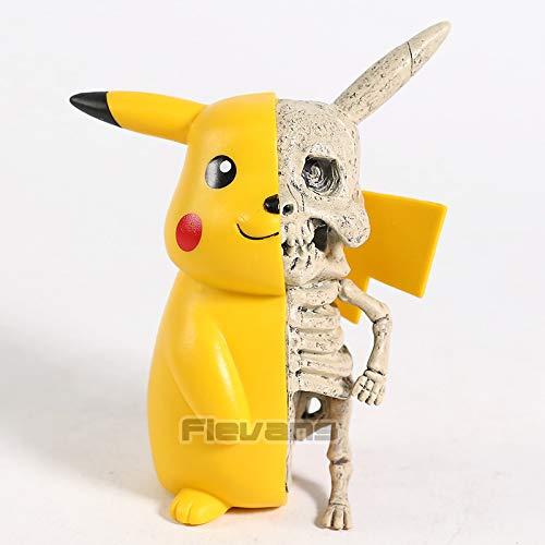 11cm (4.3 inch) - Monster Skeleton Pikachu Dissection PVC Figure