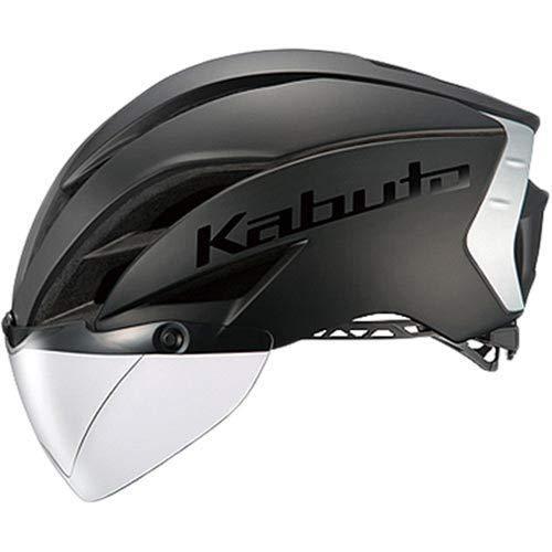 OGK KABUTO(オージーケーカブト) ヘルメット AERO-R1 TR マットブラック-2 サイズ:S/M (頭囲 55cm-58cm)   B079MFFNG3