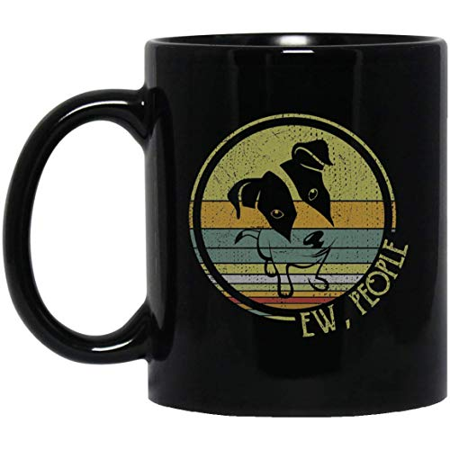 MKTEE Retro Vintage Ew People Afghan Hound Mug Dog Lover Gifts 11oz 15oz Funny Coffee Cup for Men Women Friends