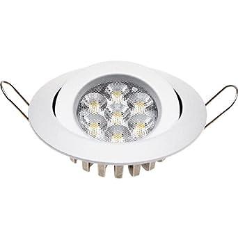 Guli TD20 Cibeles LED con Driver Incluido 4000K, 7 W, Blanco, Ø100 x 25 mm: Amazon.es: Hogar