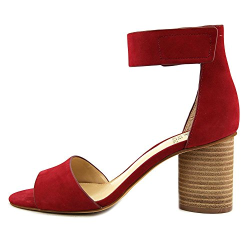 Vince Camuto Women's Jacon Leather Ankle-High Leather Pump Tribal Red Nubuck CXfH3e