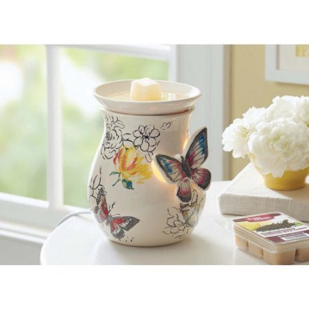 Butterfly Scented Perfume - Better Homes and Gardens Full-Size Wax Warmer, Butterflies