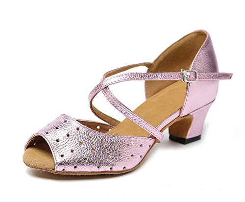 Minitoo ,  Mädchen Tanzschuhe , Pink - rose - Größe: 32 EU