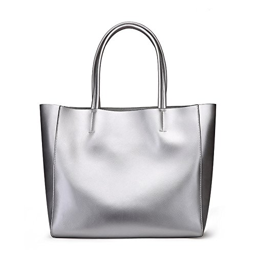 Bolso Bronce Dama Color Gran GUANGMING77 Bolso silvery gx7wfxqdXH
