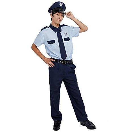 Amazon.com: patymo Casual-Style Policía uniformes traje ...