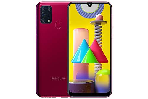 Samsung Galaxy M31 Mobile Phone; Sim Free Smartphone – Red [Amazon Exclusive]