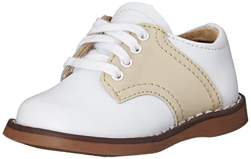 Cheer W Infant 3 3 M FootMates Oxford Little Infant Kid Toddler Ecru White Unisex 5AqEqxO
