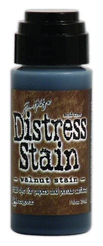 ranger-tdw-29908-tim-holtz-distress-stain-fluid-water-based-dye-walnut-stain-1-ounce