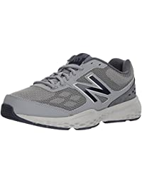 Men's MX517v1 Training Shoe, Grey/Navy, 10.5 4E US