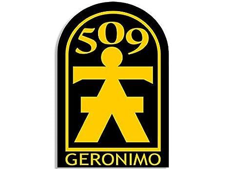 509th geronimo logo sticker army seal 509 decal