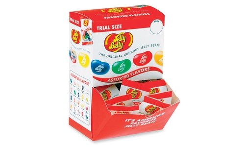 (Jelly Belly Trial Size Gourmet Jelly Bean Pack - Case of 80)