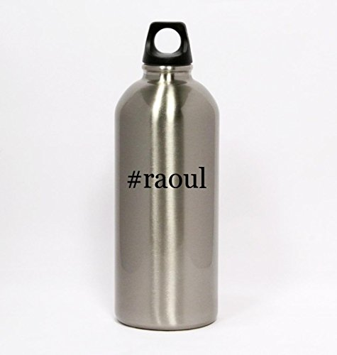 raoul-hashtag-silver-water-bottle-small-mouth-20oz