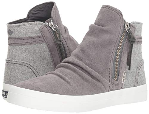 Femmes La Sport Sperry A Chaussures Gris Mode De 4wq64T7xU