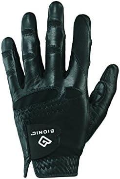 Bionic GGNBCMLL Men s StableGrip with Natural Fit Black Golf Glove, Left Hand, Cadet Large
