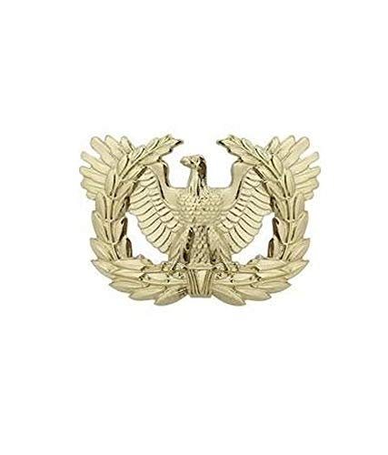 US Army Brite Warrant Officer Cap Device (Insignia Officer Warrant)