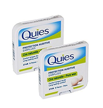 Quies Ear Plugs 8 Pairs-PACK OF 2 [Personal Care] by Quies ()