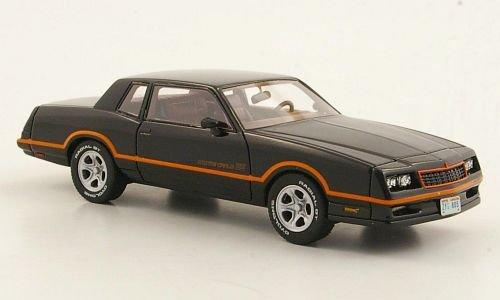 Chevrolet Monte Carlo SS, schwarz, 1986, Modellauto, Fertigmodell, Neo 1:43