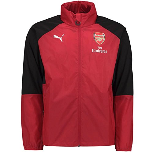 PUMA Arsenal Kids Training Rain Jacket 2017/18 (Red)-7-8 Years