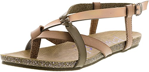 Blowfish Women's Granola-B Blush/Light Taupe Dyecut/Solar Pisa 7 M US -