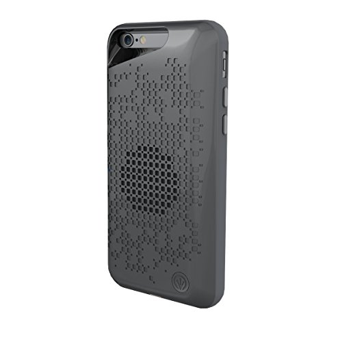 iFrogz Acoustic Case with Built in Bluetooth Speaker for Apple iPhone 6 / iPhone 6S - Grey