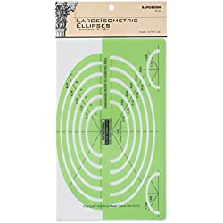 Rapidesign Large Isometric Ellipses Template, 1 Each (R124)