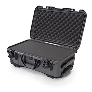 Nanuk 935 Waterproof Hard Case with Wheels and Foam Insert - Graphite