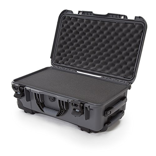 Nanuk 935 Waterproof Hard Case with Wheels and Foam Insert for Sony Mirrorless Cameras and Lenses - Graphite