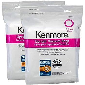 Amazon Com Kenmore Type O Hepa Vacuum Cleaner Bags