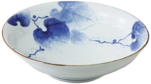 Tsuta Roman 12inch Large Bowl White Porcelain by Watou.asia
