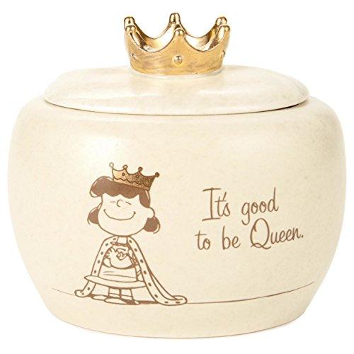 Hallmark Peanuts Lucy Queen Treasure Box, 4