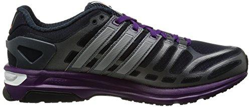 Adidas - Zapatillas de running para mujer Multicolor - Grey/Purple