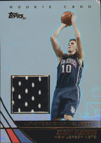 - 2003 Topps Jersey Edition Basketball Rookie Card (2003-04) #ZP Zoran Planinic