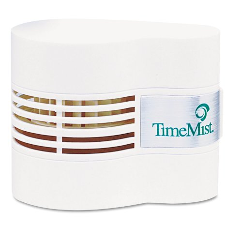 TimeMist 1044385 Continuous Fan Fragrance Dispenser, 4 1/2 x 3 x 3 3/4, White ()
