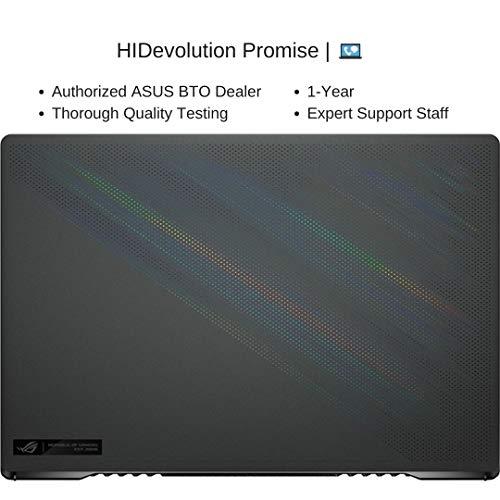 [2021] HIDevolution ASUS ROG Zephyrus G15 GA503QR 15.6 QHD 165Hz, 3.0 GHz AMD Ryzen 9 5900HS, RTX 3070, 40 GB 3200MHz RAM, 2 TB PCIe SSD, Windows 10 Pro