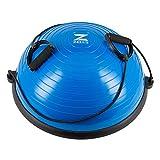 Z ZELUS Balance Ball Trainer Half Yoga Exercise