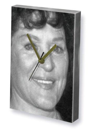 MAJEL BARRETT - Canvas Clock (A5 - Signed by the Artist) - 20mm Barrett
