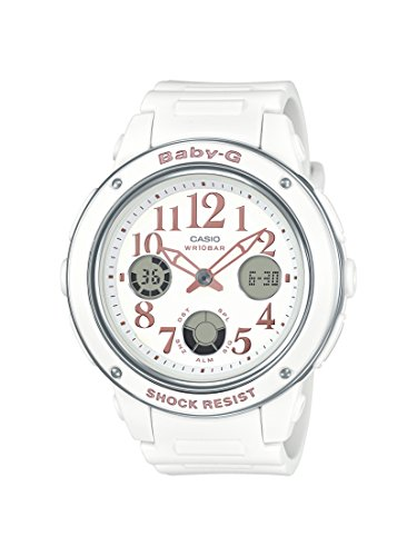Casio Women's BGA150EF-7B Baby-G White Watch ()