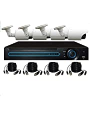 Outdoor and indoor CVI AHD ultra-clear 1500TVL day and night surveillance camera system with HD 1.3 recorder