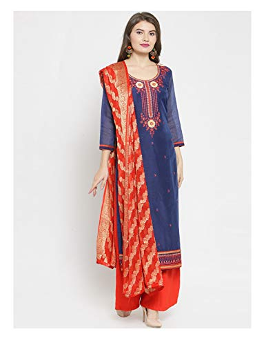 Stitched Readymade Embroidered Salwar Kameez Dupatta for sale  Delivered anywhere in USA