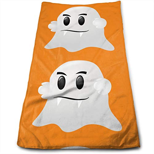 HFXFM Halloween Ghost Vampire Teeth Multipurpose Soft Polyester Lightweight Hand Towel for Bath, Pool, Beach, Travel Towel,Bath Sheet, 30cm X 70cm -