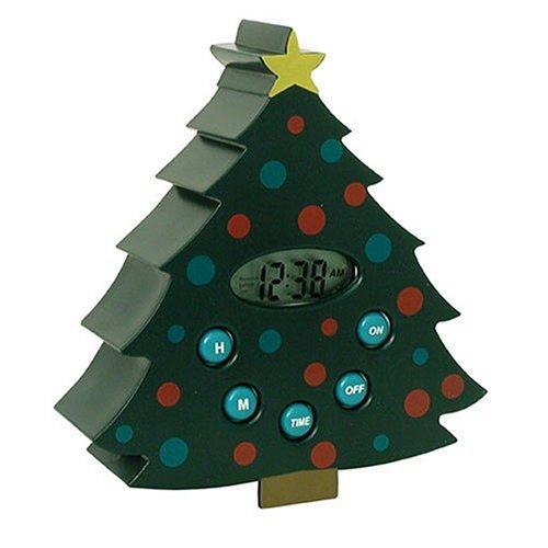 Ingraham Christmas Tree Novelty Timer